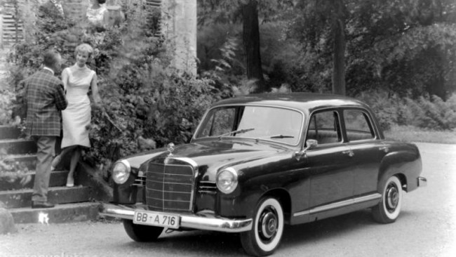Mercedes-Benz 190/190D (W121)