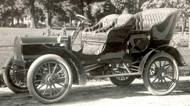 "Buick model ""B"" 1904 года"