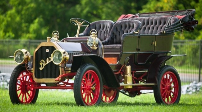 Buick Model D Touring 1907 года