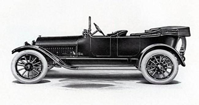 Buick Model B55 1914 года