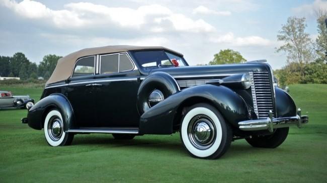Buick Series 40 Specia 1937 года