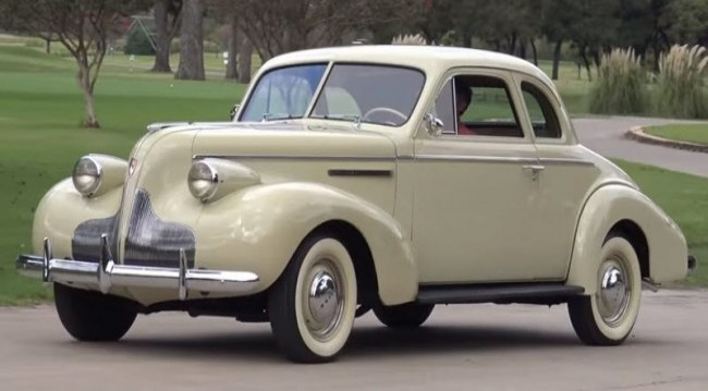 Buick special series-40-business coupe 1939 года
