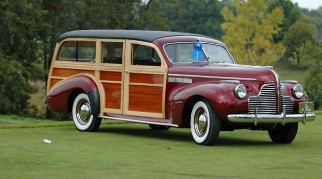 Buick Super-Estate Wagon средина 40-х годов