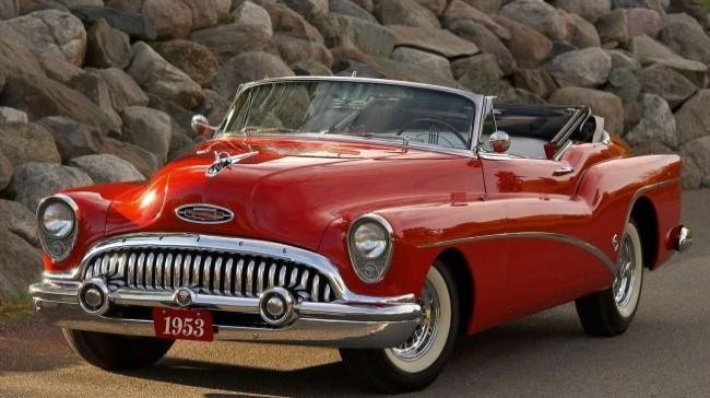 Buick Roadmaster Skylark 1953 года