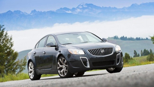 Buick Regal GS 2012 года