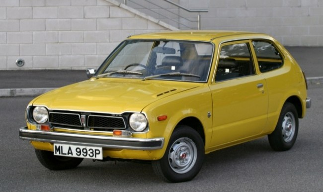 Honda Civic 1972 года