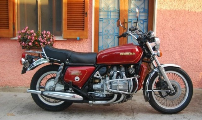 Honda GL1000 Gold Wing 1974 года
