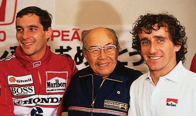 Звезды Formula 1 - Алан Прост и Айртон Сенна