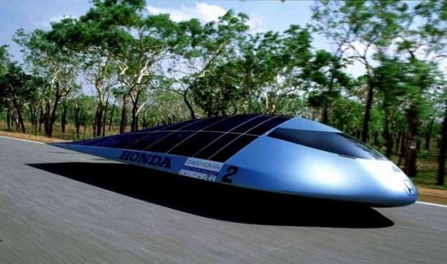"Honda Dream ""Солнцемобиль"" 1990 года"