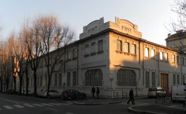 Первый завод FIAT в Турине ул. Корсо Данте