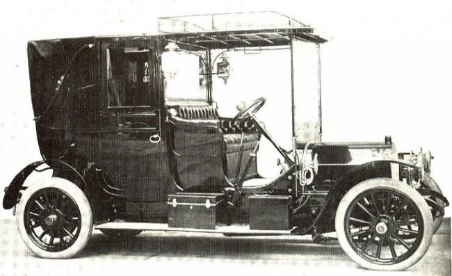 FIAT 16/20 HP 1903 год