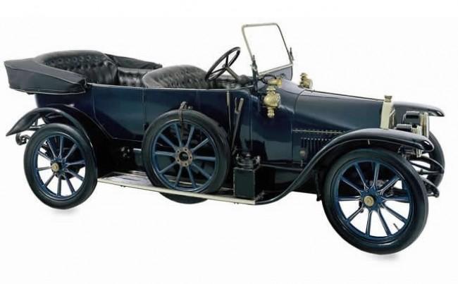FIAT Tipo Zero 1912 год