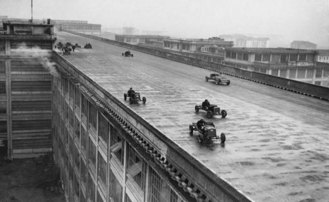 Завод Линготто Турин 1923 год