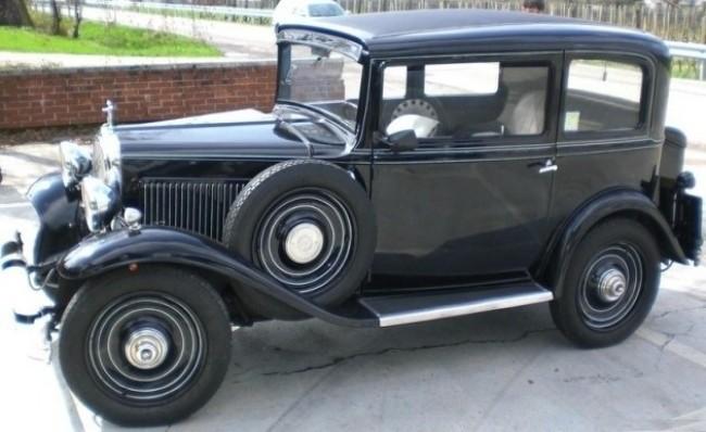 FIAT 508 Balilla 1932 год