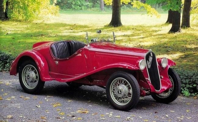 FIAT 508S 1932 год