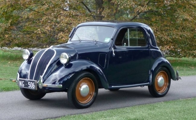 FIAT 500 Topolino 1936 год