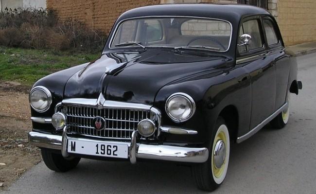 SEAT 1400 1953 год