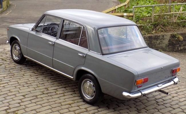 FIAT 124 Berlina 1968 год