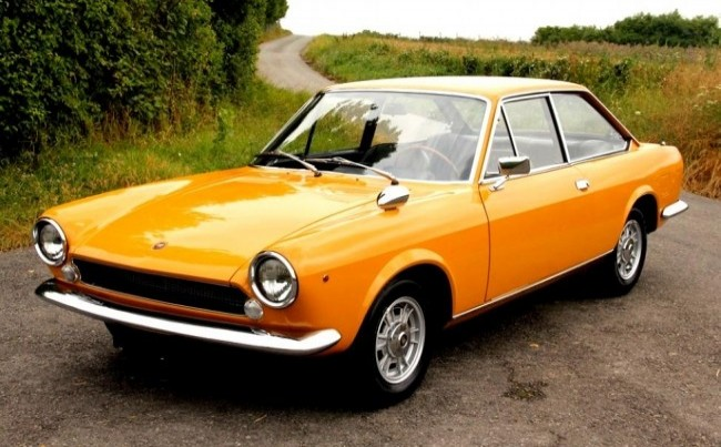 FIAT 124 Sport Coupe 1967 год