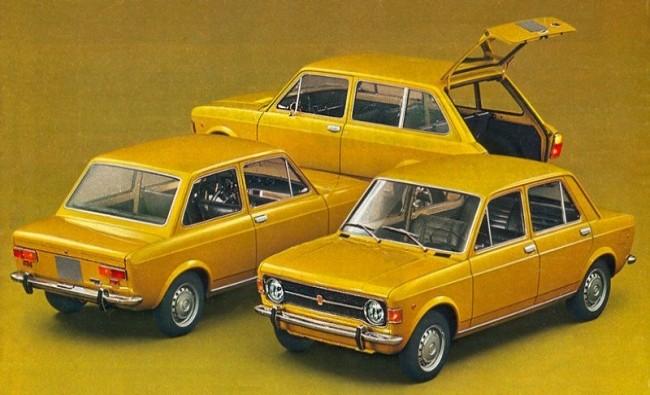FIAT 128 1969 год