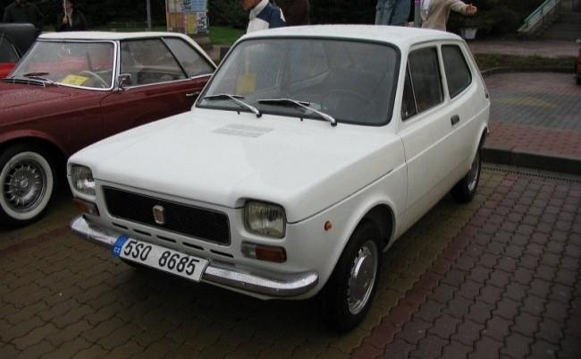 FIAT 127 1972 год