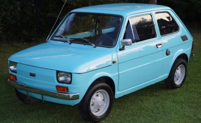 FIAT 126 1972 год