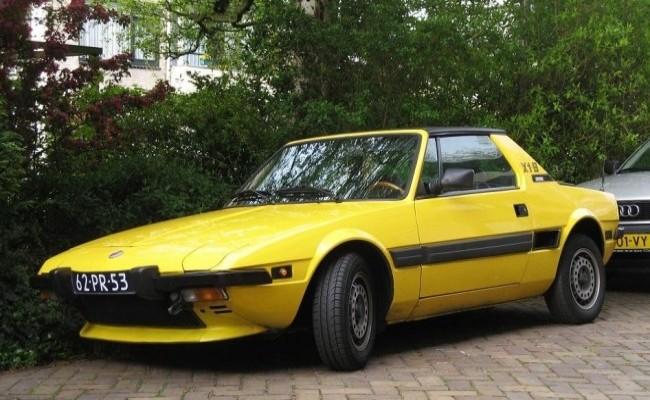 FIAT X1/9 1976 год