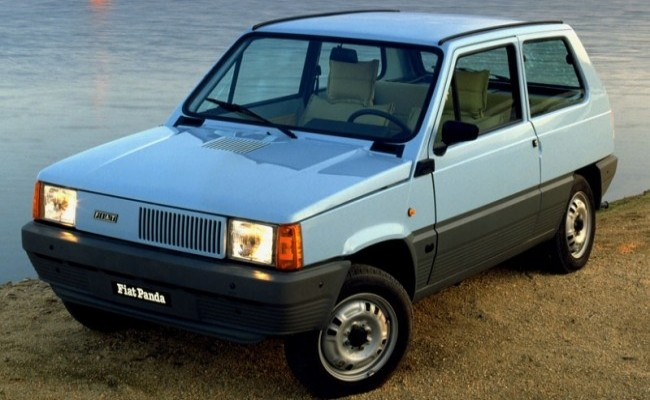 FIAT Panda 1980 год
