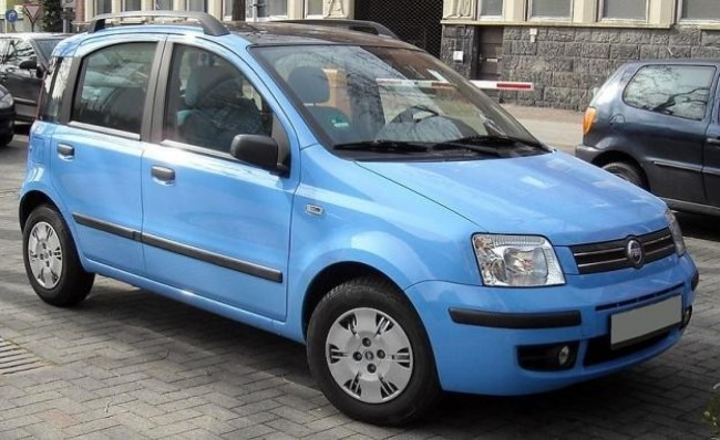FIAT Panda 2004 год