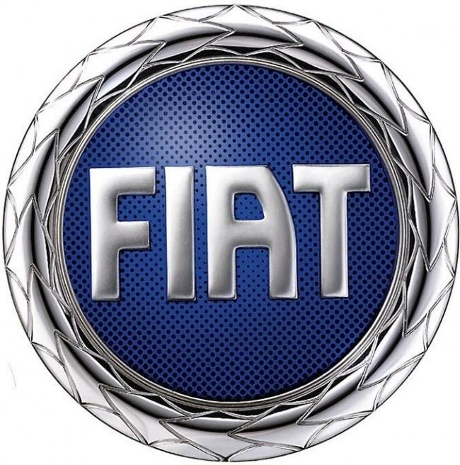 Эмблема FIAT 2000 год