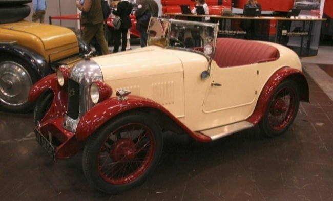 Двухместный Austin Seven Swallow 1927 год