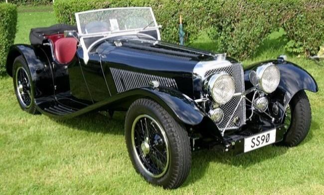 SS Jaguar 90 1935 год