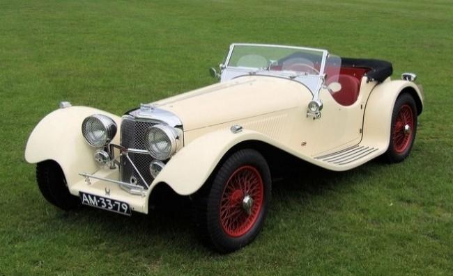 SS Jaguar 100 1935 год