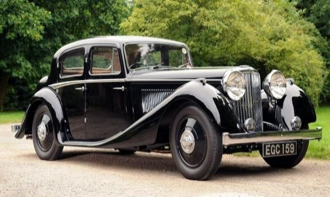 SS Jaguar 2 1/2 Saloon 1937 год