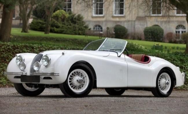 Jaguar ХК120 1948 год