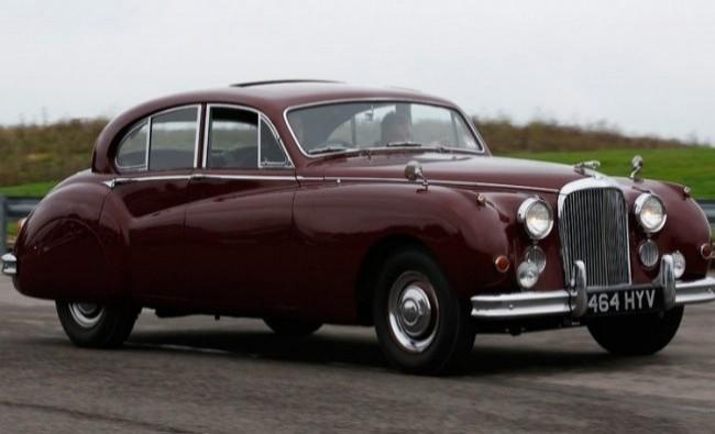 Jaguar Mk VII принадлежавший Королеве Елизавете II с 1955 по 1973 год