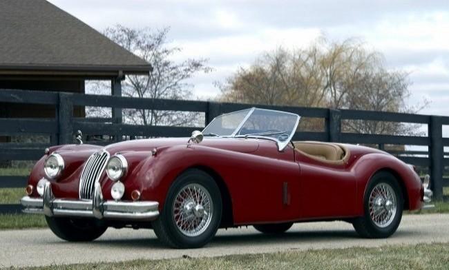 Jaguar ХК-140 1954 год