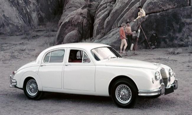 Jaguar Mk I 1955 год