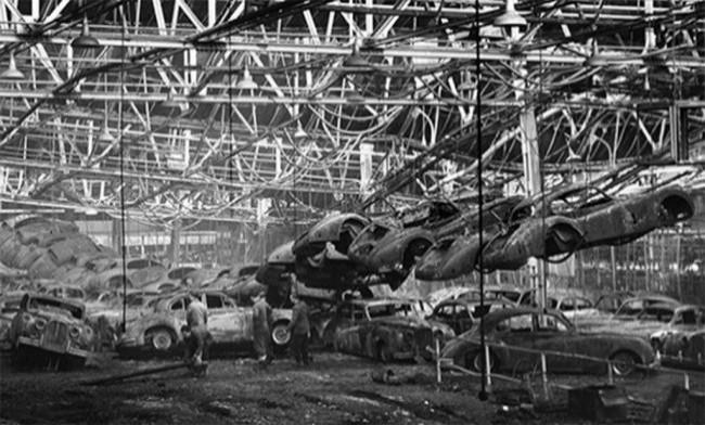 После пожара на заводе Броунс Лайн 12 февраля 1957 года