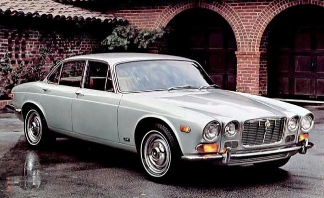 Jaguar XJ6 1968 год