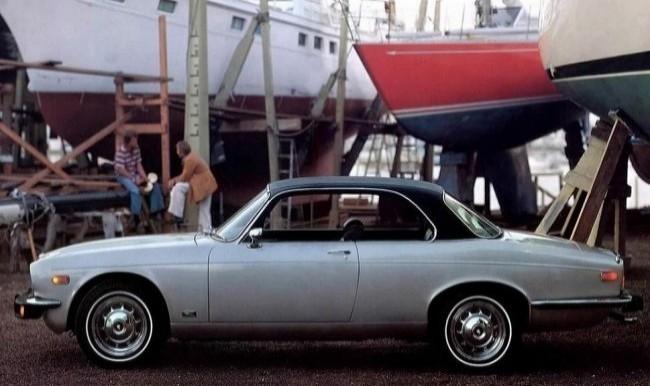 Jaguar XJ Coupe 1973 год