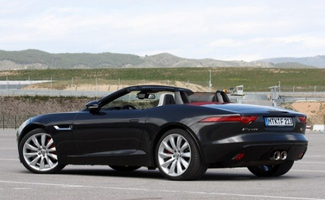 Jaguar F-Type 2014 год