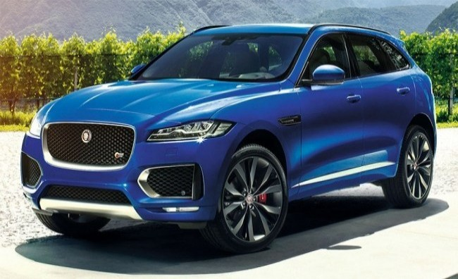 Jaguar F-Pace 2016 год