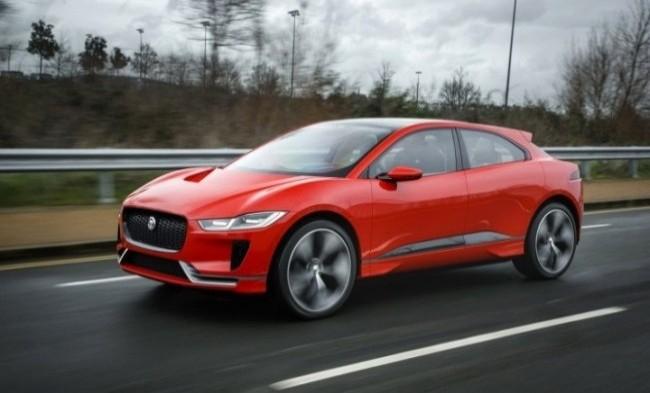 Jaguar I-Pace 2017 год