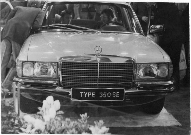 Первый из Мерседесов Высоцкого - «Мерседес» в кузове W116, модификация 350 SE