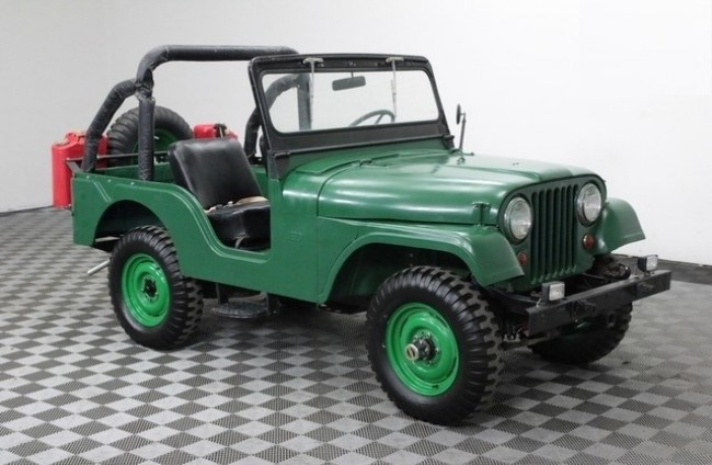 Jeep CJ-5, 1955 год