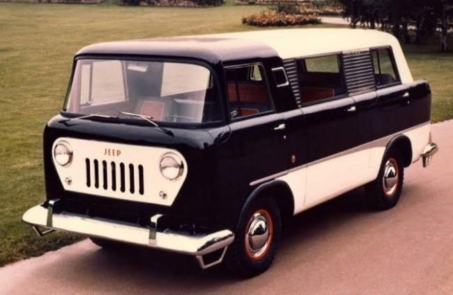 Jeep FC-150 Commuter Van (прототип), 1958 год