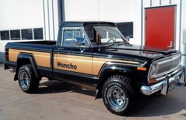 Jeep J10 Honcho, 1976 год