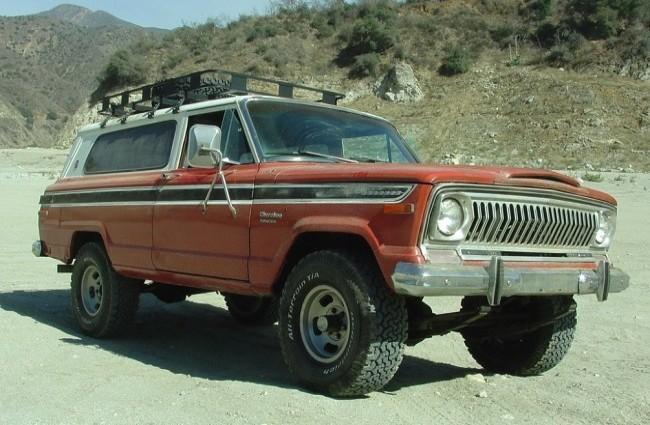 Jeep Cherokee S, 1974 год