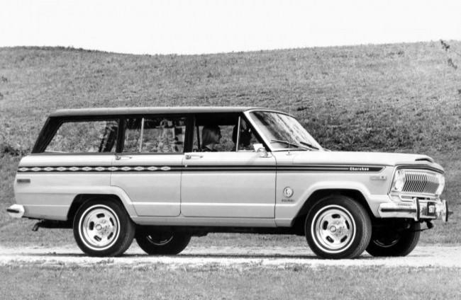 Jeep Cherokee S 4-doors, 1977 год